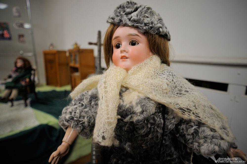 Кукла немецкого мастера Ганса Сейфарха, 1920 г.