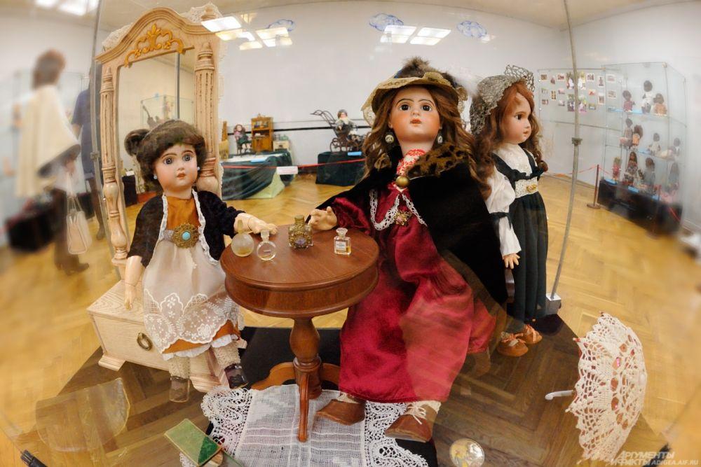 Куклы французской фирмы «Тете Жюмо». 1890 г.