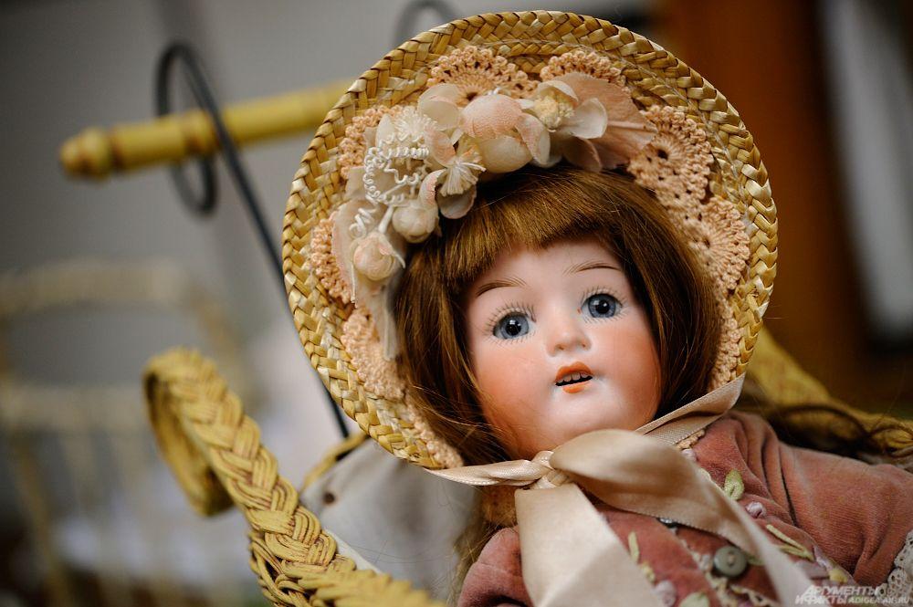 Кукла немецкой фирмы Heubach Koppelsdorf, 1920 г.