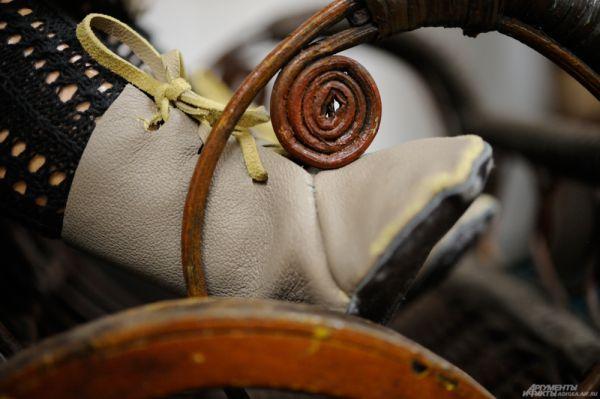 Обувь куклы немецкого мастера Ганса Сейфарха, 1920 г.