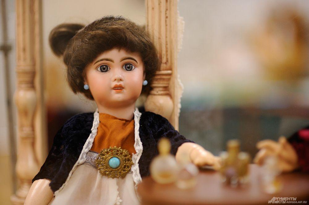 Кукла французской фирмы «Тете Жюмо», 1890 г.