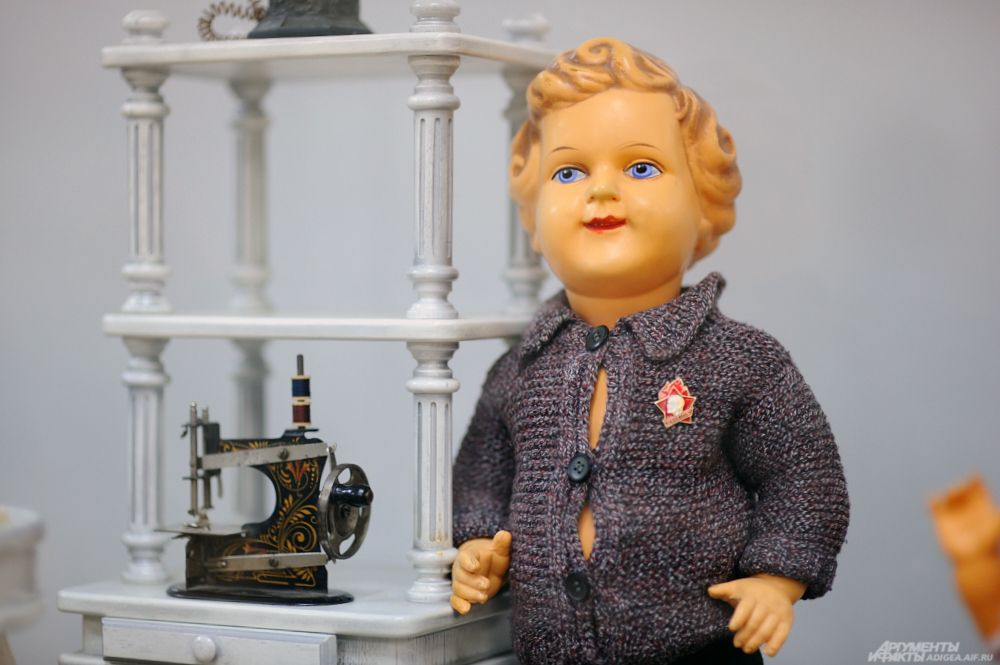 Кукла польской фирмы «Адам Шраер», 1920-1930 гг.
