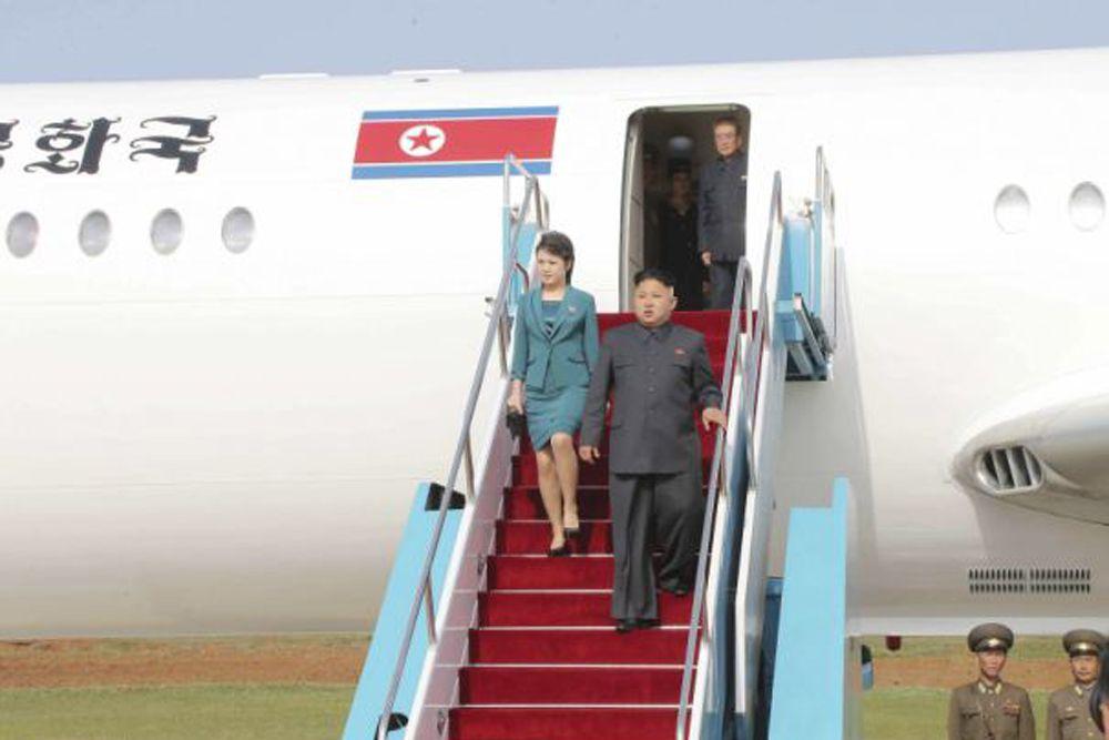 На борту «лайнера № 1» Северной Кореи крупными буквами по-корейски написано «Корейская Народно-Демократическая Республика», изображен флаг КНДР. На хвосте же в большом круге изображена красная звезда, аналогичная той, что на государственно флаге.