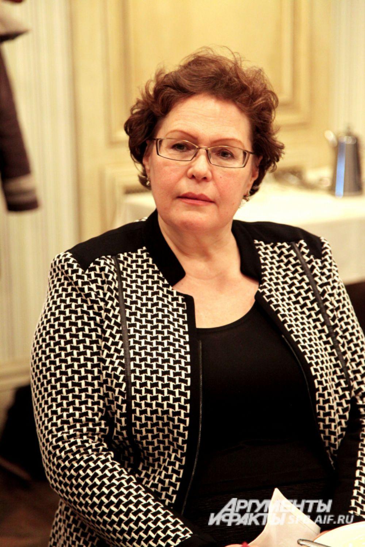 Ирина Робертовна Луговская, проректор по учебной работе (Архитектурно-строительный университет), д.п.н., профессор