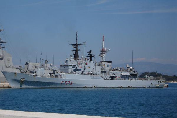 Итальянский фрегат Aliseo. Фрегат УРО «Ализео» был спущен на воду 28 февраля 1943 года. До 1971 года назывался «Биоково».