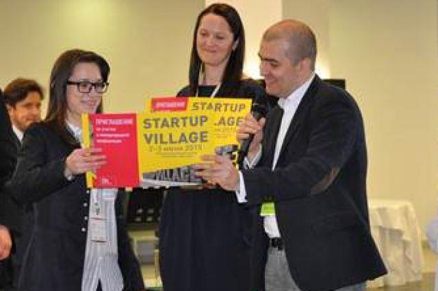 Победителям этапа в Казани вручили приглашения для участия в конференции Startup Village
