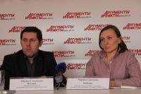 Михаил Жиляев и Марина Знайдюк