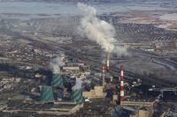 Смог в Челябинске.