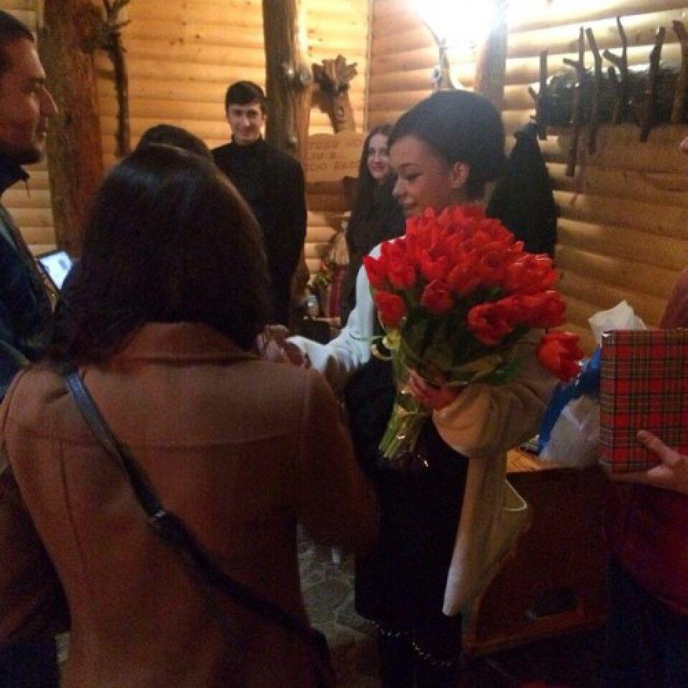 Празднование дня рождения Марии Яремчук в Карпатах