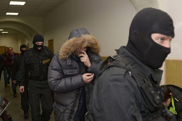 Советник губернатора Сахалинской области Андрей Икрамов перед заседанием в Басманном суде в Москве.
