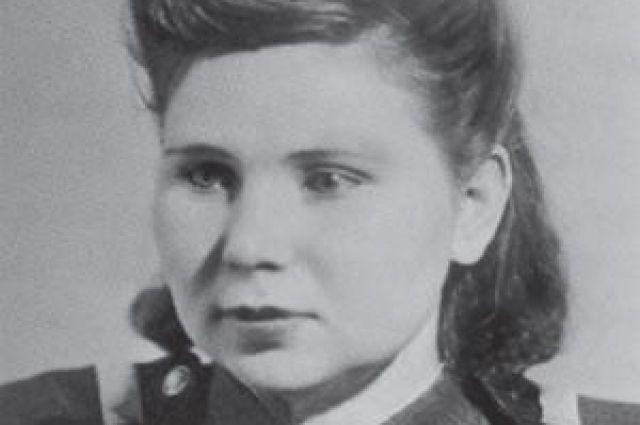 Нина Носкова в годы войны.