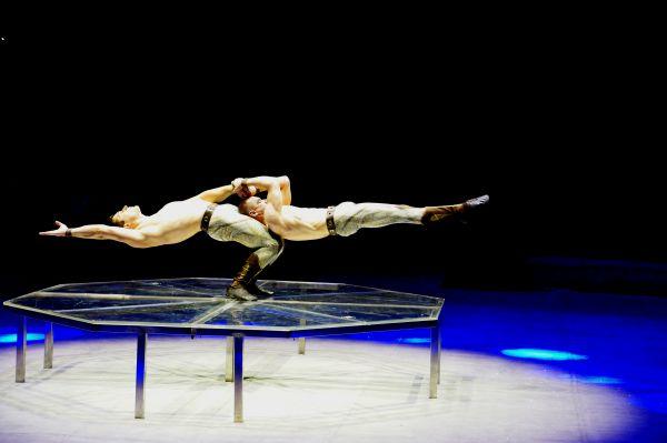 Акробатический дуэт, Украина.