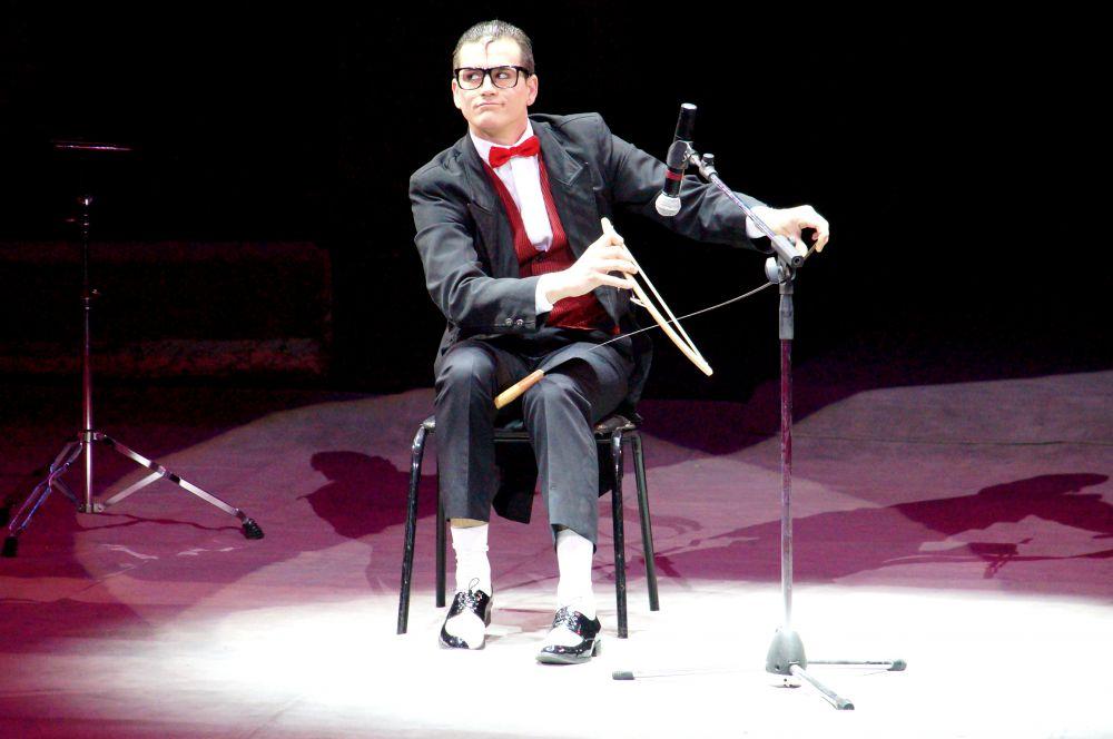 Клоун из Португалии Сезар Диаз.