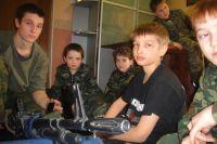 Школьники в камуфляже