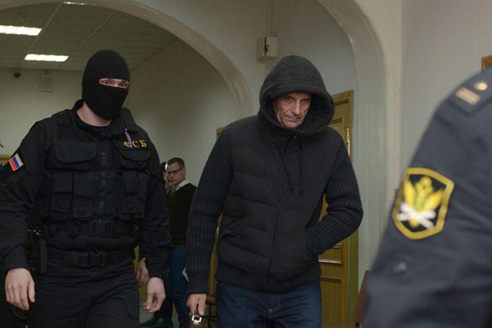 4 марта. Губернатор Сахалинской области Александр Хорошавин на заседании в Басманном суде в Москве.