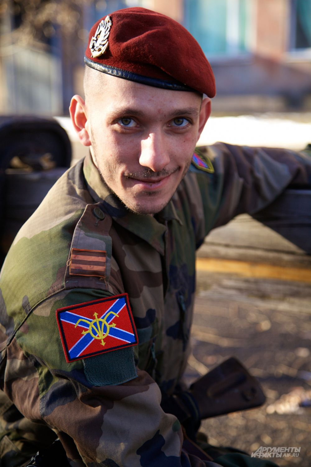 Сербский доброволец.