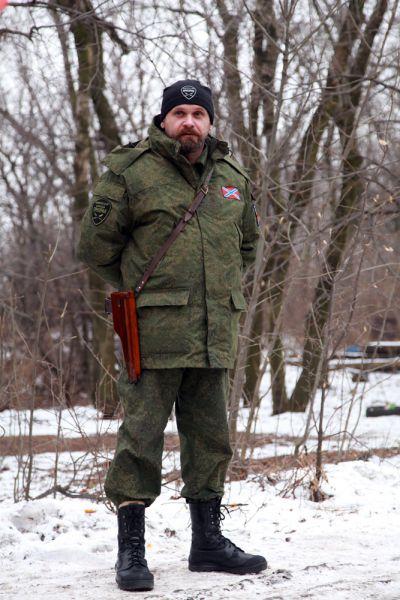 Алексей Борисович Мозговой – командир бригады «Призрак».
