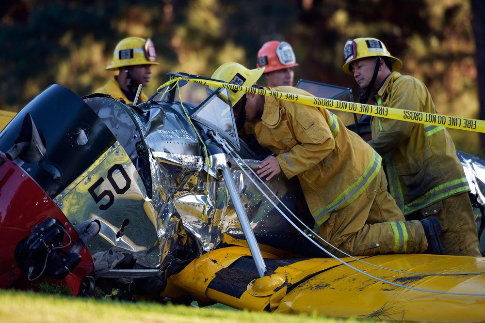 6 марта. Самолет Харрисона Форда разбился в Калифорнии.