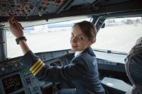 Анна Гривцова - ростовский пилот пассажирского самолёта