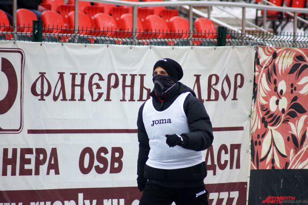 Игорь Киреев так и остался на замене.
