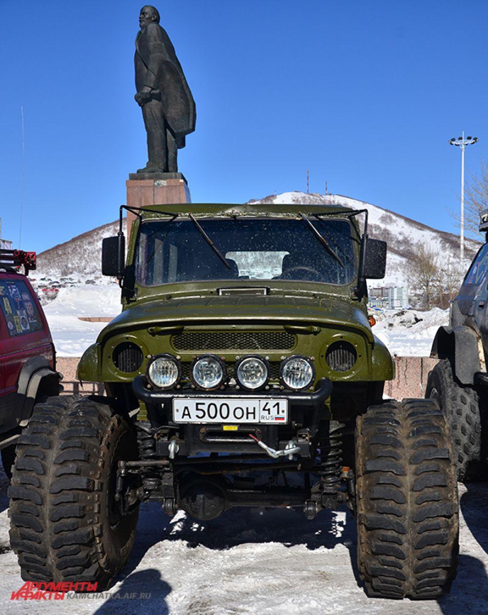 Российский «УАЗ» - достойный конкурент джипам.