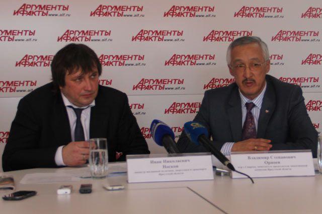Иван Носков и Владимир Орноев