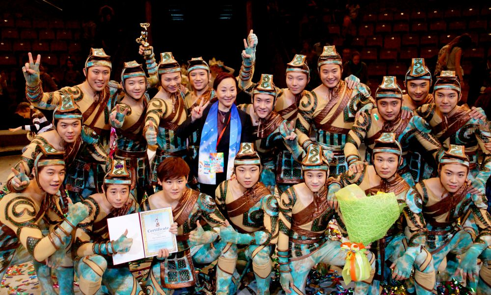 Золотого медведя получили и акробаты из группы «Икарийские игры» (Китай).