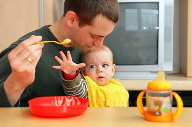 Маленькие дети нуждаются в специализированном питании.