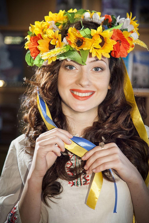 Анна Севастьянова представляла на конкурсе украинцев.