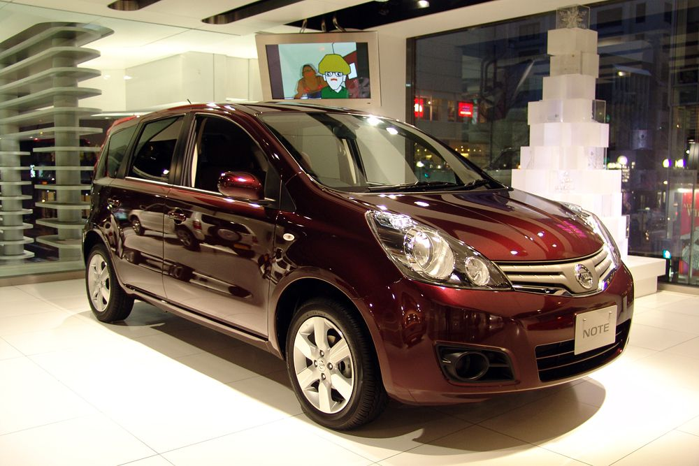 Nissan Note – девятый (83,2%).