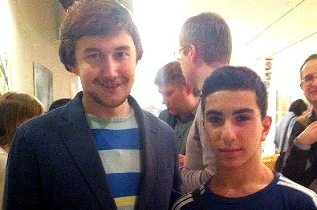 Калининградец Эрик Чибухчан (справа) стал первым в категории «С», а известный российский мастер Сергей Карякин (слева) стал вторым в высшем дивизионе.