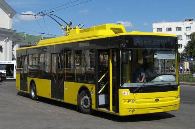 троллейбусов «Богдан»