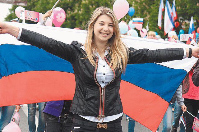 Настроение в Крыму весеннее.