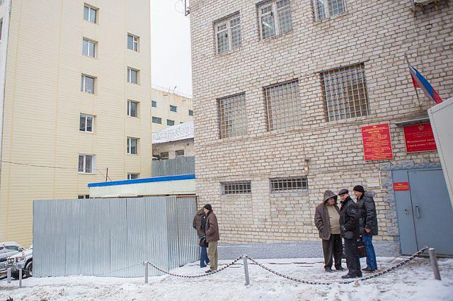 Вход в СИЗО Владивостока.