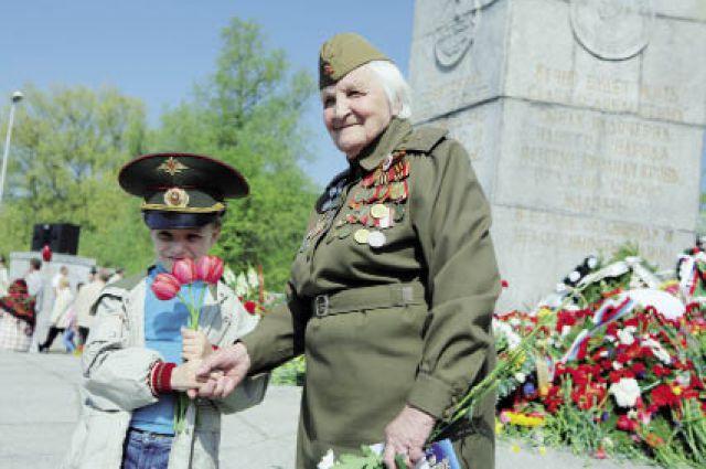 В нашем крае - более 10 тыс. ветеранов Великой Отечественной войны.