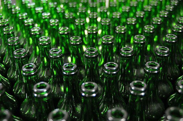 На переработку принимают и бутылки.