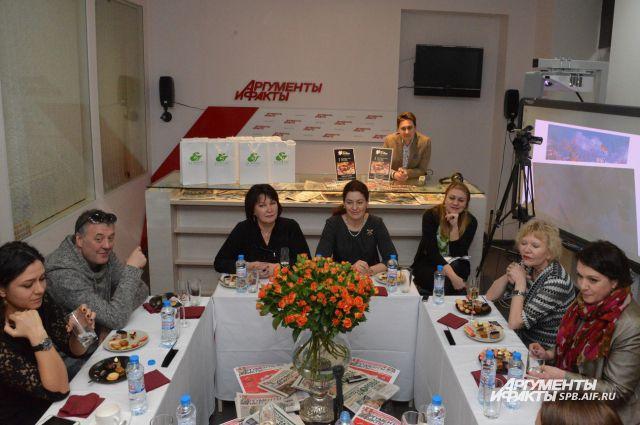 «АиФ-Петербург» собрал 5-й традиционный девичник.