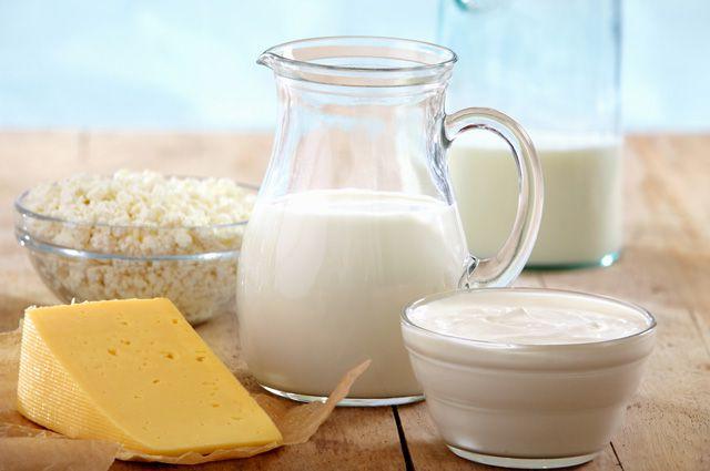 молоко и правильное питание