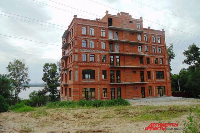 Тот самый самострой на переулке Конечном в Хабаровске