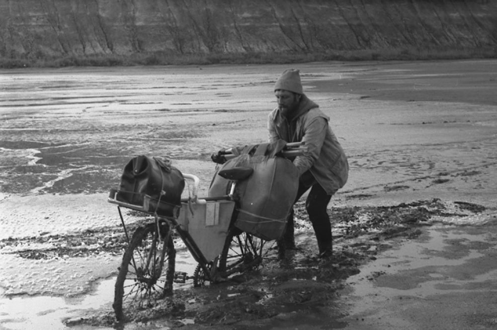 Туркмения, Узбой, 1982.