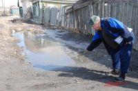 Без резиновых сапог весной в Омске на окраинах не погуляешь.