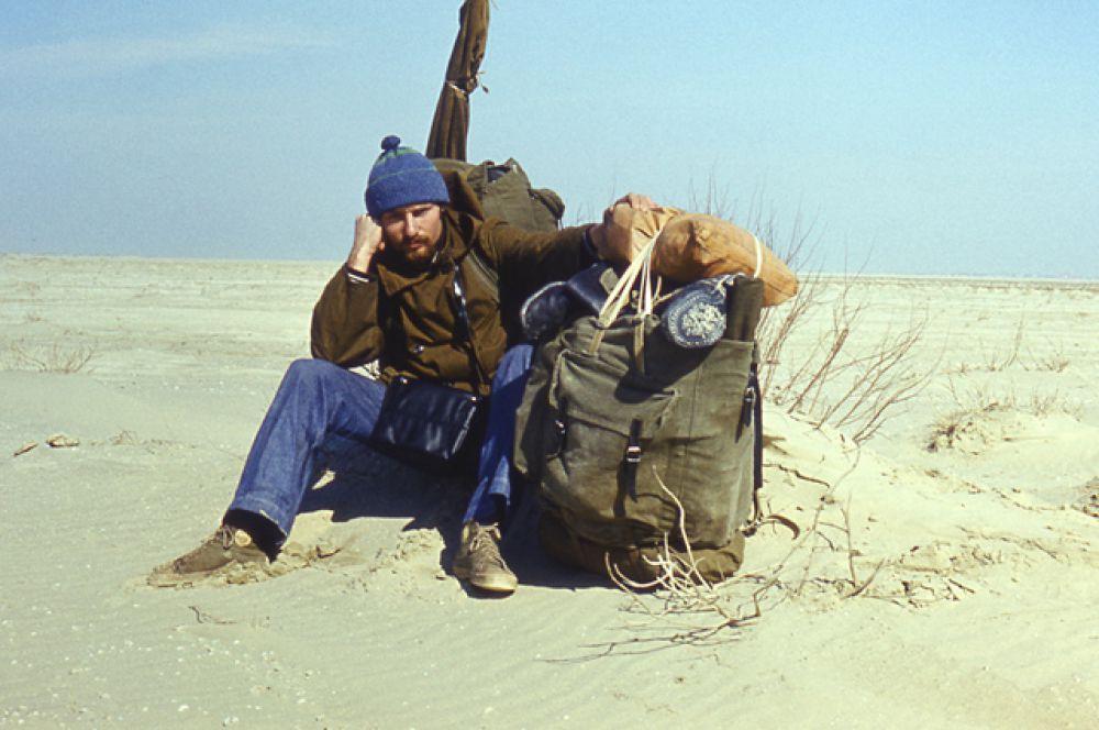 Приаральские Каракумы, 1980.