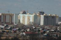 В Омской области продолжают строить дома.
