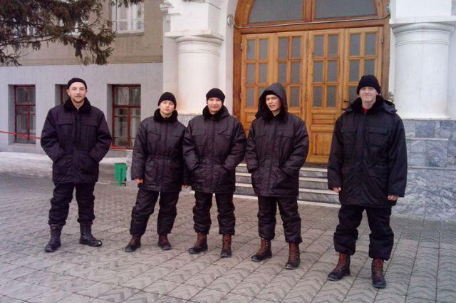 Добровольный отряда «Кировец».