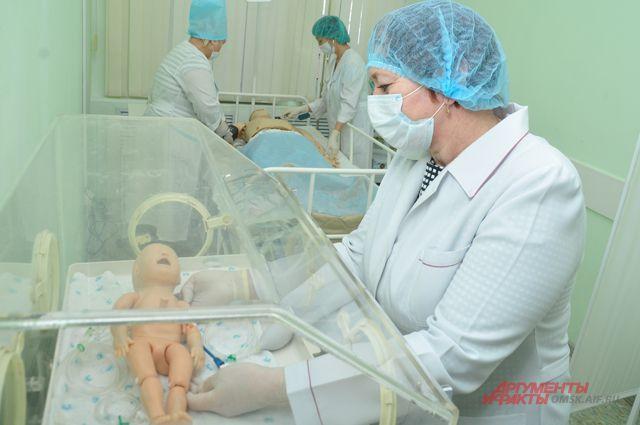Отработанные во время тренировок действия спасут малышей.