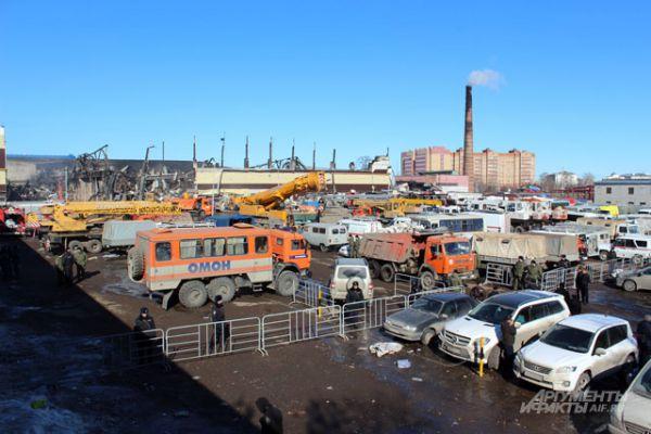 Общая площадь возгорания превысила четыре тысячи квадратных метров.