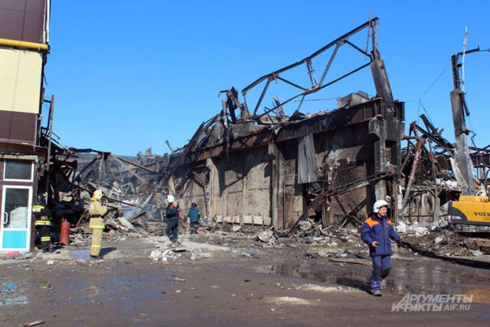 Среди погибших в результате пожара в торговом центре «Адмирал» в Казани есть трое граждан Таджикистана.