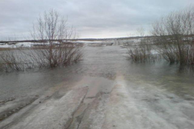 Мост в Ряжском районе.