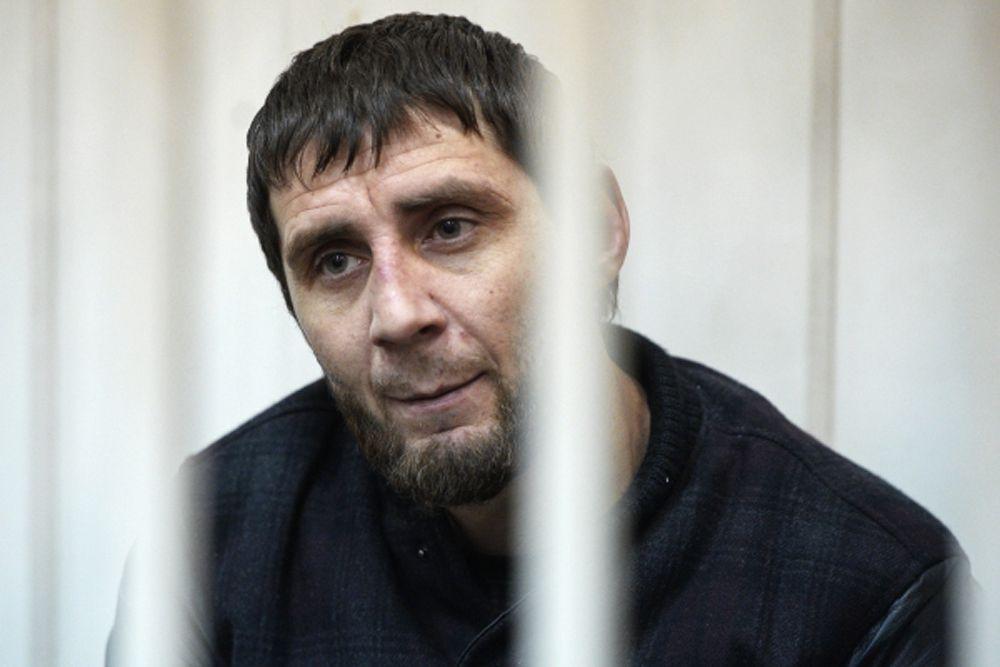 8 марта. Подозреваемый в убийстве политика Бориса Немцова Заур Дадаев на заседании Басманного суда в городе Москве.