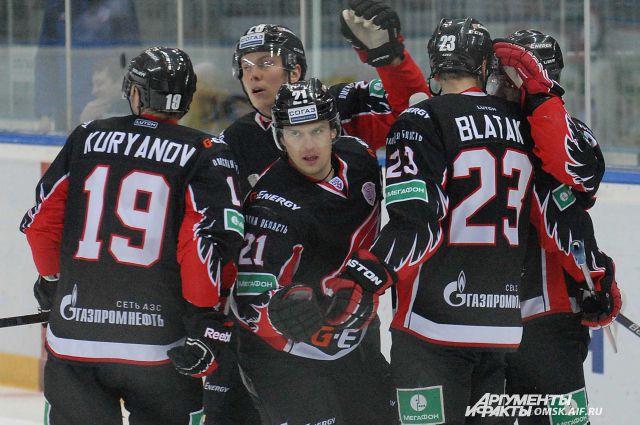 Омичи одержали победу в первом матче серии против казанцев.